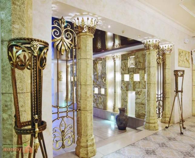 Колонны в интерьере: античный и современный стиль (39 фото)