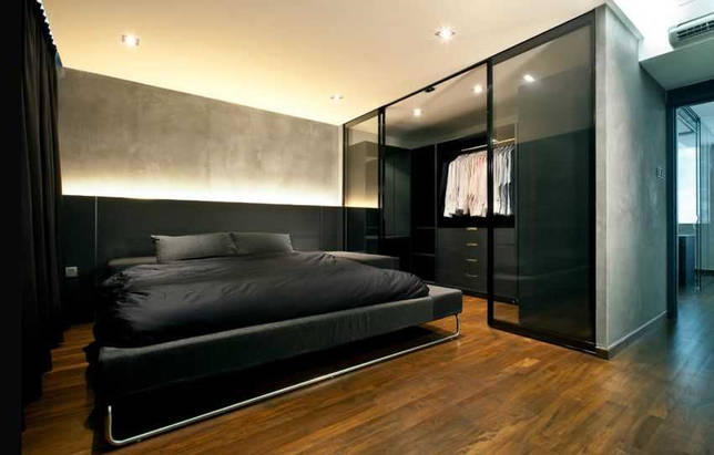 Дизайн гардеробной в спальне: создаем полезное пространство (23 фото)