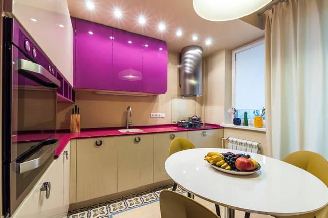 цветовая гамма интерьера кухни площадью 10 кв