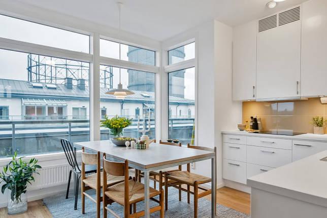 интерьер кухни площадью 10 кв
