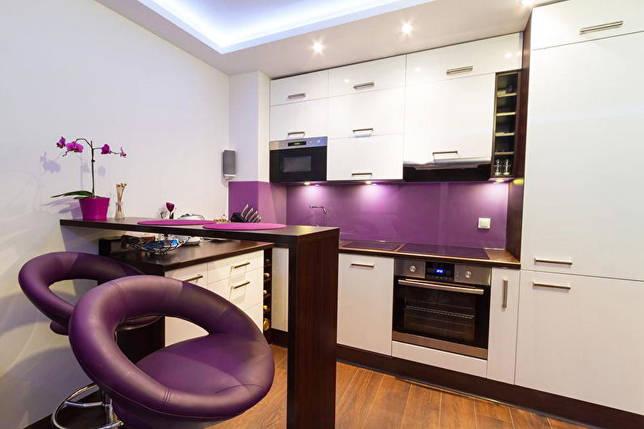 Дизайн кухни 10 кв.м. - Освещение