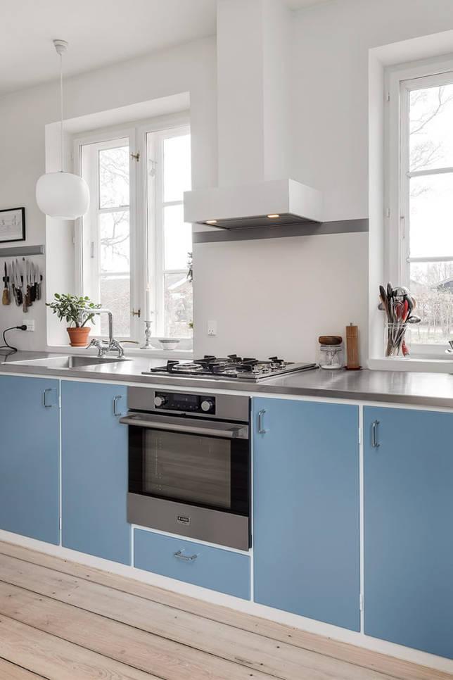 кухня без верхних шкафов