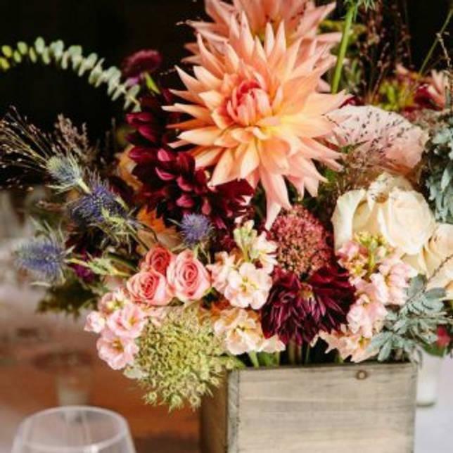 Оформление на 14 февраля цветочное