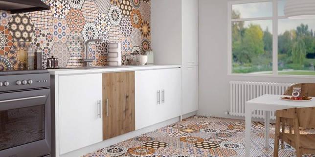 Марокканская плитка в интерьере: изящество восточных форм (27 фото)