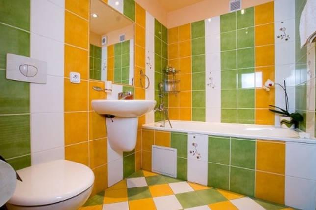 Оранжево-зеленая
