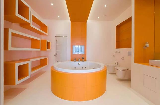 Мебелировка ванной комнаты