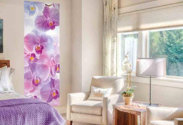 Орхидеи в интерьере (21 фото): красивое расположение цветка и использование обоев с ним