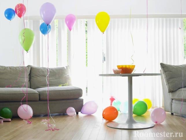 Воздушные шары к празднику