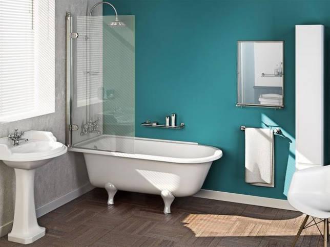 Светлая ванная в минималистическом настроении